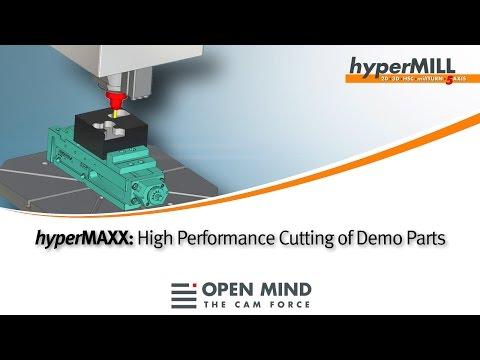 CNC Machining: High Performance Cutting with hyperMILL hyperMAXX | CAM
