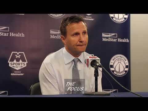 Washington Wizards vs Cleveland Cavaliers - Scott Brooks Post Game