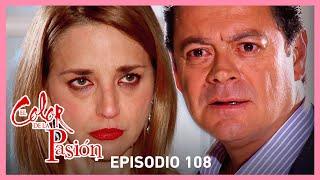 El color de la pasión: ¡Alfredo se entera que Nora es su hija! | C-108 | Tlnovelas