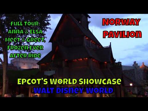 Epcot's World Showcase Norway Pavilion Tour
