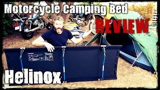 Motorcycle Camping Bed - Helinox Cot One