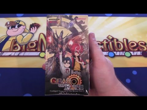 Cardfight Vanguard Gear of Fate Clan Booster Unboxing