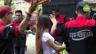 Mba Aurel Iring Pengantin Di Teloke GUNUNG SARI Di Iringi Kecimol NIRWANA