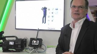Dejero showcases Dejero + Nucomm Connect Live transmitter at IBC 2013