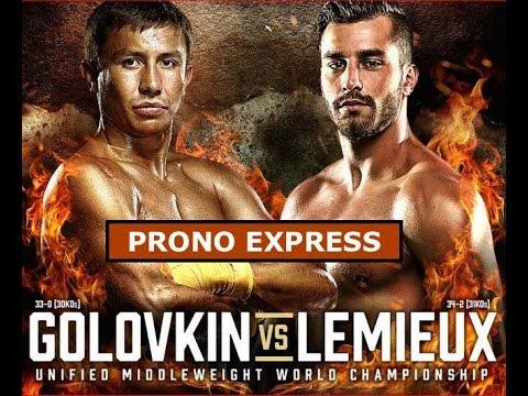 Prono Express GGG vs Lemieux