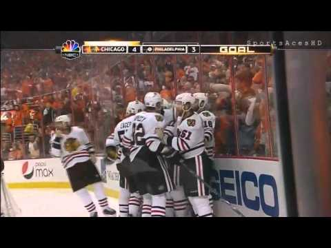 Patrick Kane Scores OT Winner in the 2010 Stanley Cup Finals