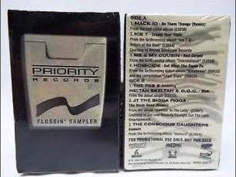 Priority Records - Flossin' Sampler [full ep]