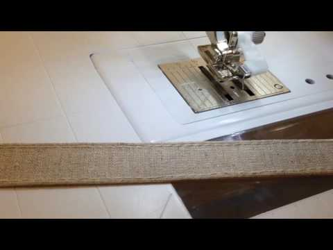 How to Sew a Double Fold Strap