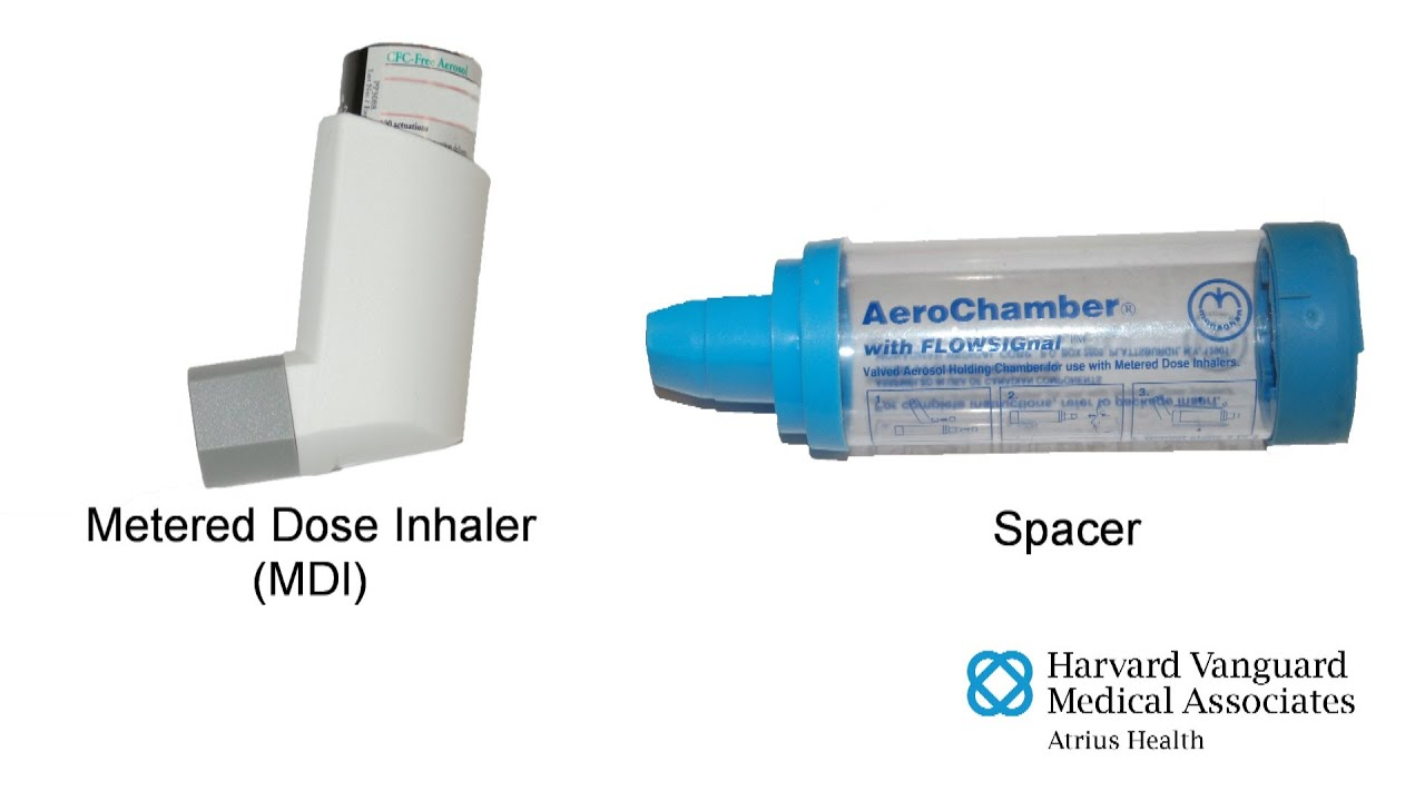 Using a Metered Dose Inhaler (MDI) with a Spacer