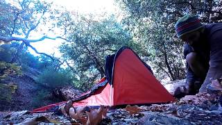 REVIEWED  Aqua Quest One Hoop Bivy Sack  Minimalist Backpacking