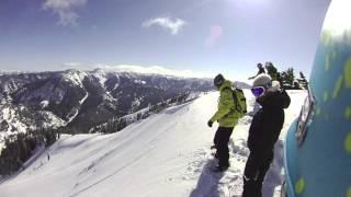 Heli Snowboarding with Travis Rice