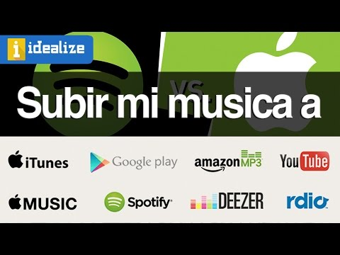 ¿Cómo subir mi música a Spotify, iTunes, Apple Music, Deezer, google music, YouTube?