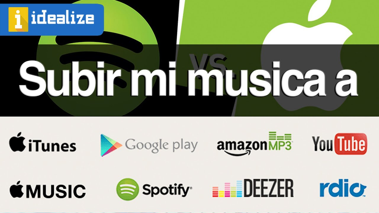 ¿Cómo Subir Mi Música A Spotify, ITunes, Apple Music
