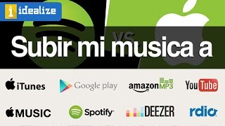 ¿Cómo subir mi música a Spotify, iTunes, Apple Music, Deezer, google music, YouTube?