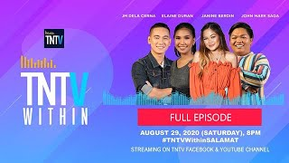 TNTV Within with Janine Berdin & JM Dela Cerna, Elaine Duran, John Mark Saga
