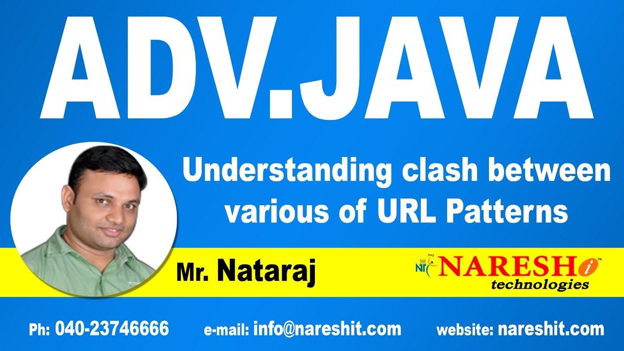 Understanding clash between various of url patterns advanced understanding clash between various of url patterns advanced java tutorial mr nataraj baditri Images