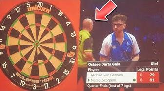 Michael van Gerwen vs. MarcelScorpion | Das komplette Spiel !