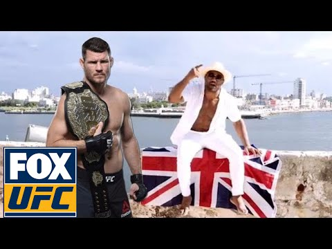 Michael Bisping addresses Yoel Romero's recent challenge | UFC ON FOX