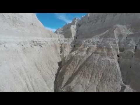 The Original Faribault Drone Flies To South Dakota (Badlands)