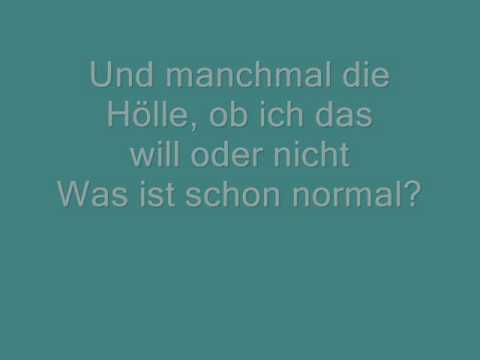 Lafee-Ich bin ich with lyrics