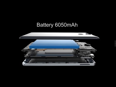 Ulefone Power Comes, With 6050mAh Super Battery