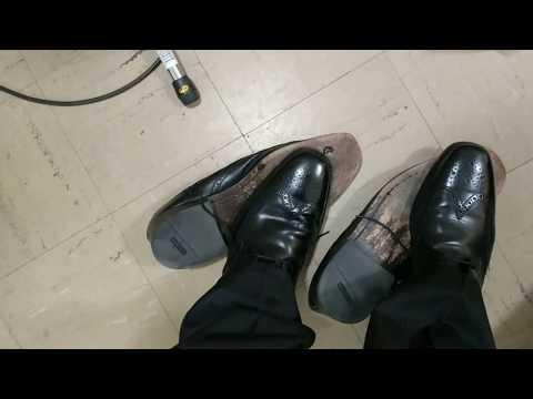 Retiring my Cole Haan Nike Air Giraldo Wingtip Dress Shoes...
