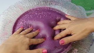 DEV ÇÖPLÜK SLİME TEST Mixing All My Slimes DIY Giant Slime Smoothie Bidünya Oyuncak