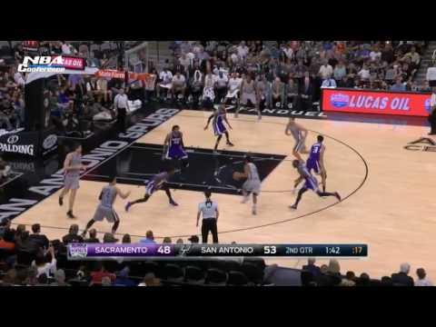 Sacramento Kings vs San Antonio Spurs   Full Game Highlights  March 19 2017