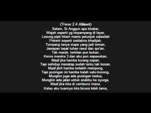 Zizan feat. Zain Ruffedge & Altimet- Anggun