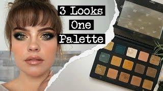 NATASHA DENONA GOLD PALETTE | 3 Looks 1 Palette | Julia Adams