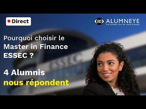 Pourquoi choisir le Master in Finance ESSEC ? 4 Alumni répondent lors du live AlumnEye
