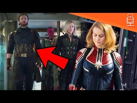 Captain Marvel in Avengers Infinity War Insane Theory