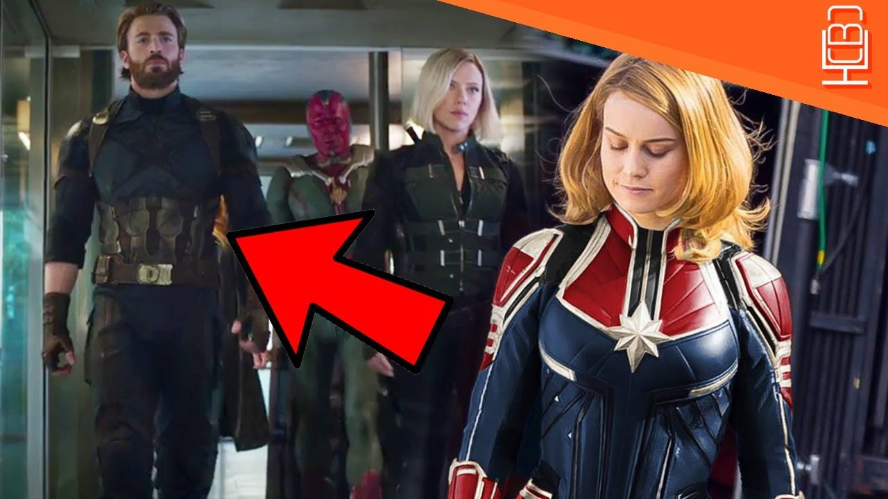 captain marvel in avengers infinity war