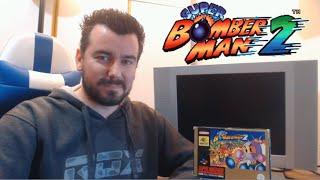 SUPER BOMBERMAN 2 (Super Nintendo) - Bombas para todos en SNES