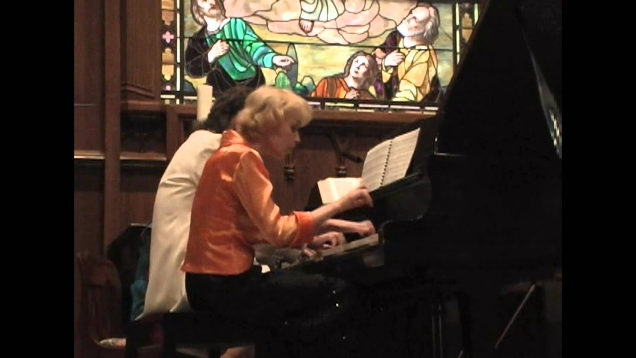 Piano Synergy Duo Moszkowski Spanish Dances Op 12 Youtube