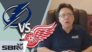 NHL Picks: Lightning vs. Red Wings Series Price Odds & Predictions