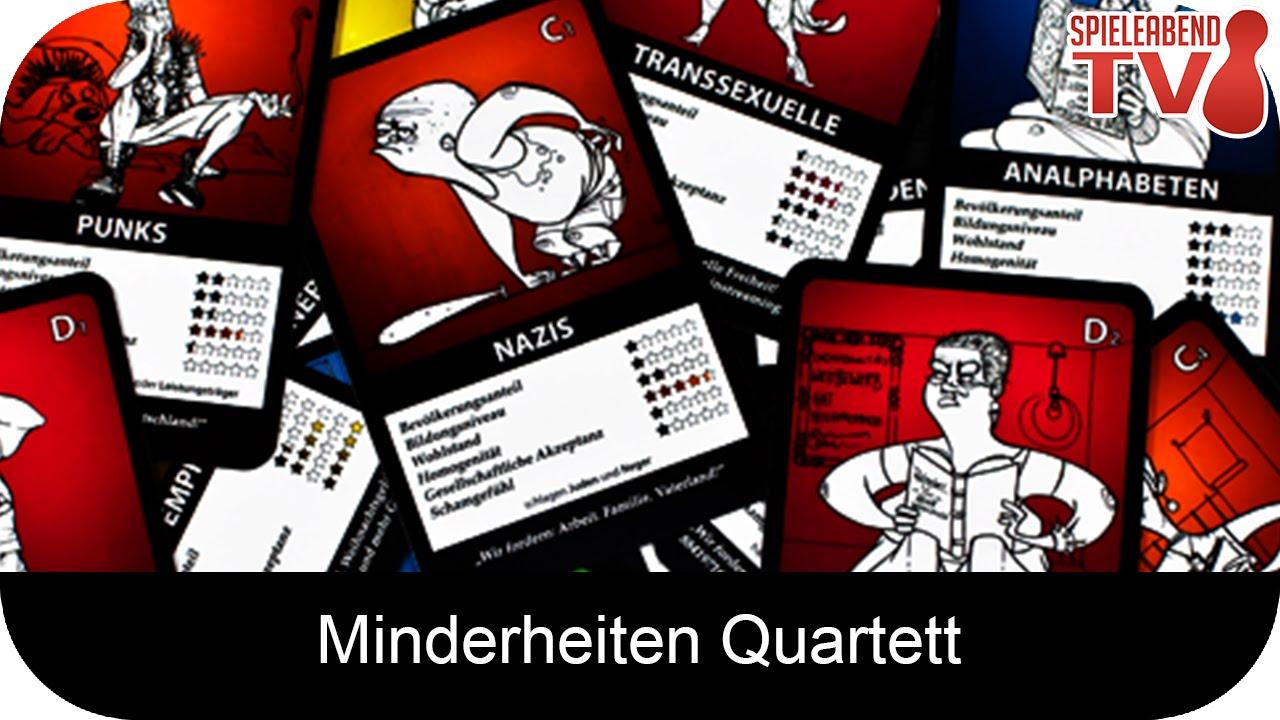 Let's Play • Minderheiten Quartett • Anleitung + Spiel ...