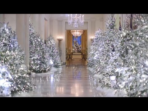 An Inside Look at Melania Trump's White House Holiday Decora