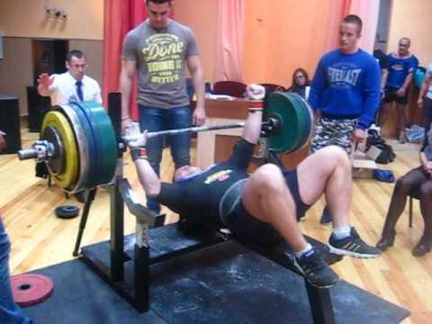 Кубок Полесья - 2016 г. Дмитрий Шашков, 295 кг.
