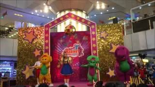 Barney & Friends Favourite Hits Live Show at United Square, Singapore! (Barney, Baby Bop, BJ)