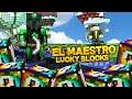 EL MAESTRO SPIRAL - Willyrex vs sTaXx - Carrera épica Lucky Blocks Spiral