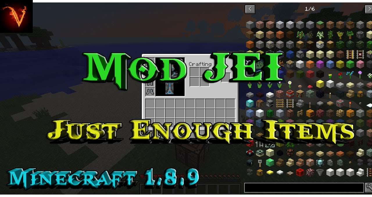 how to get just enough items mod
