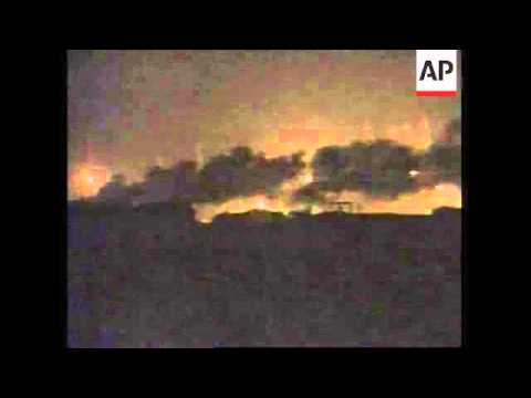 GWT: British troops use shelling to illuminate city for second night