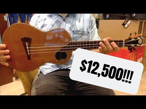 $65 UKULELE VS $12500 UKULELE
