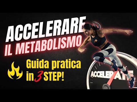 COME ACCELERARE IL METABOLISMO IN 3 SEMPLICI STEP!