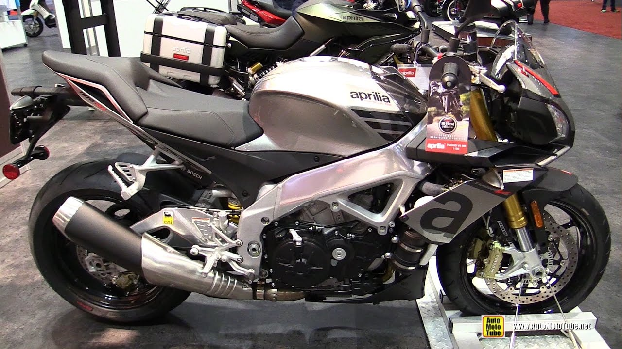 2017 aprilia tuono v4 rr 1100 walkaround 2016 aimexpo. Black Bedroom Furniture Sets. Home Design Ideas