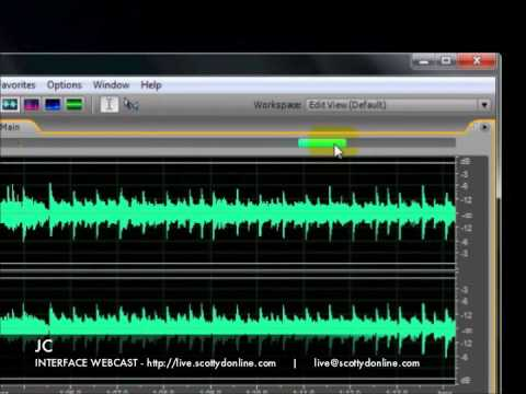INTERFACE WEBCAST - How To - Creating Seamless CD Audio With Adobe Audition 3
