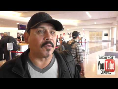 Emilio Rivera talks about cops fighting and shooting citizens and how to stop it att while departing