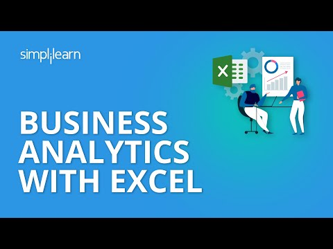 Business Analytics with Excel | Data Science Tutorial | Simplilearn