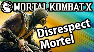 Mortal Kombat X - Match En Ligne Avec Classement (Scorpion) - DISRESPECT MORTEL!